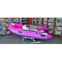 Wholesale Semi - FRP Inflatable RIB Boats Tube 3.3 Meter Length Pink Color from china suppliers