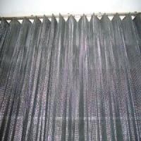 Quality Top Grade Aluminum Sequins Fabric Mesh Cloth for sale
