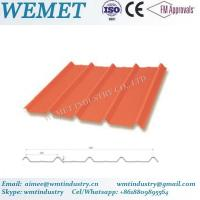 Wholesale Corrugated steel sheet for steel structure building facade WMT-28-205-820 from china suppliers
