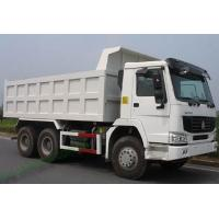 Wholesale HOWO 266hp dump Truck / tipper truck fuel tank 300L with 16.5m3 cargo box volume from china suppliers