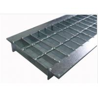 Wholesale Anti Slip Outdoor Drain Grate Covers , Serrated Steel Trench Covers Grates from china suppliers