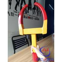 Wholesale Red painting adjustable width sold secure wheel clamp for motorcycle or SUV or Small Van from china suppliers