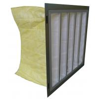 Wholesale Dust Collector Pocket Air Filter F5 F6 F7 F8 Medium Efficiency Bag Type from china suppliers