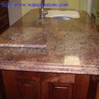 Wholesale Yellow Granite kitchen countertop from china suppliers