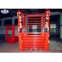 Wholesale Truck Tyre Storage Rack Pallet Heavy Duty Metal Steel Fixed / Removable from china suppliers