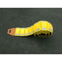 Buy cheap Portable crimp rubber folding speed hump 3000*220*50mm speed breaker from wholesalers