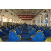 Quality 5T - 60T Pipe Welding self - aligning Rotator with rubber rollers , tank turning rolls for sale