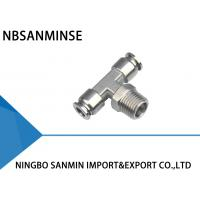 Wholesale SSB Tee Air / Hydraulic Hose Fittings For Food Service / Chemical Industry from china suppliers