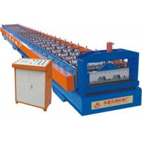 Wholesale Blue Metal Steel Floor Deck Roll Forming Machine With Gear Oil Pump from china suppliers