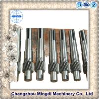 Wholesale Spline Shaft Coupling Spare Part Gear And Shaft Assembly 4000mm Length from china suppliers