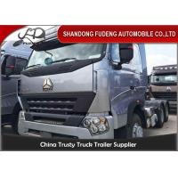 Wholesale 6 X 4 Drive HOWO Tractor Head Trucks 309KW Power Max.Speed 92km/h from china suppliers