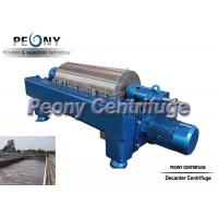Wholesale Sludge Dewatering Decanter Centrifuge Wastewater Treatment Plant Equipment from china suppliers