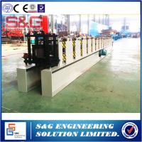 Wholesale Round Profile Water Down Pipe Roll Forming Machine With Mitsubishi PLC Controller from china suppliers