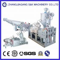 Quality Conical Double Screw  PVC Plastic Pipe Extrusion Machine 38Crmoala for sale