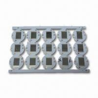 Wholesale Double-sided Aluminum Base PCB with 1.6mm Thickness and ENIG Surface Treatment from china suppliers
