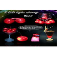 Wholesale Waterproof Led Ice Cube Lights Flashing Cherry Fruit Powered By 3pcs AG3 Cell Battery from china suppliers