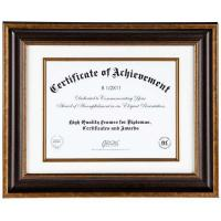"Wholesale 17""x14"" Overall Size One single Opening Document Picture Frames In Antique Rustic Bronze from china suppliers"
