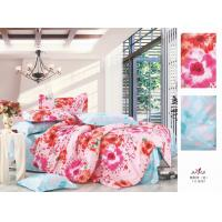 Wholesale Pink Flower Printed Queen Size Personalized 100 % Cotton Bedroom Colorful Bedding Sets from china suppliers