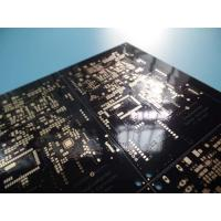 Quality 2 Layer Black PCB 1.53-1.62mm Thick 42.02um Copper Thick FR -4 ITEQ 100% Test Pass for sale
