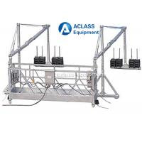 Wholesale 630 kg Wire Rope Suspended Working Platform with for Building Construction from china suppliers
