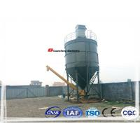 Wholesale White and blue carbon Steel Cement Silo SNC200  For concrete batch plant from china suppliers