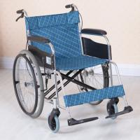 Wholesale Simple Reclining Foldable Philippines Lightweight Manual Wheelchair , Net Weight 13 - 16KG from china suppliers