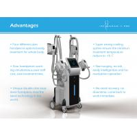 Quality 4 handles cryoliplysis fat freezing / cryolipolysis slimming machine / cryolipolysis for fat reduction for sale