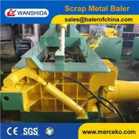Wholesale Small power and high efficiency Scrap Metal Baler with hand value from china suppliers