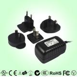 China 5W multi-pins power adapter with US, EU, UK, and AU plug for worldwide market on sale
