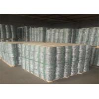 Fence Hot Dipped Galvanized Security Barbed Wire Roll 25kg / Coil