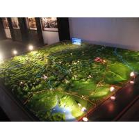 Wholesale City landscape Layout 3D Architectural Models Lighting  Construction Miniature from china suppliers
