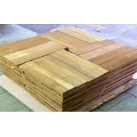 Wholesale Sliced Cut  Wood Flooring Veneer Sheet , Teak Wood Veneering 0.5 mm from china suppliers
