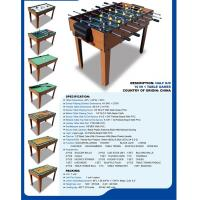 Wholesale Popular 10 In 1 Multi Game Table Wood Grain Color With Different Game Toy from china suppliers