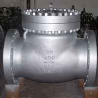Wholesale ANSI 600LB RF Industrial Flanged Check Valve , Carbon Steel Swing Type Check Valve from china suppliers