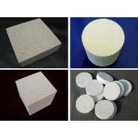 Wholesale Honeycomb Ceramic-Round, Cylinder, Lump, Cordierite Ceramics from china suppliers