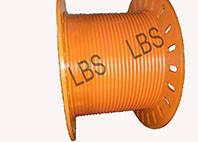 Wholesale Orange Color Stainless Steel 304 Lebus Grooved Drum With 11mm Wire Dia from china suppliers