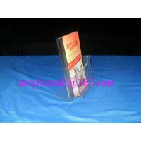 Wholesale Custom Factory Wholesale Handmade Clear Acrylic Brochure Holder from china suppliers