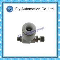 Quality GRLA-M5-QS-6 162962 One Way Air Flow Valve , Throttle Valve Pneumatic Fittings for sale
