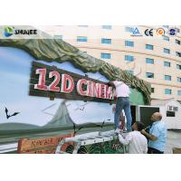 Wholesale Shopping Center 12D Movie Theater XD Theater With Electronics Motion Seats from china suppliers