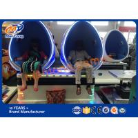 Wholesale Multi Seats 9d Cinema Simulator , Virtual Reality Arcade For Commercial Plaza from china suppliers