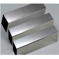 Wholesale Cold Drawn 201, 202, 301, 321, 304 Stainless Steel Welded Square Tube / Pipe 2B Polish from china suppliers