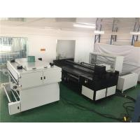 Buy cheap 4 - 8 Kyocera Printheads Digital Textile Printer 260 m2 / h Reactive Inks from wholesalers