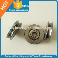 High performance u groove ball bearing pulley with ball bearing