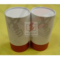 Quality Wine Storage Paper Tube Packaging Cylinder Paper Box With Ribbon for sale