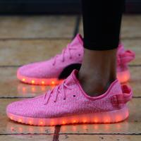 Wholesale 7 Colors Slip-On led shoes from china suppliers