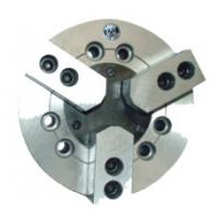 Wholesale Semi Steel Body Power 3 jaw Scroll Chucks Flat Back Without Through Hole from china suppliers