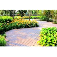 Wholesale Weather-proof WPC Decking Flooring Grain Surface For Park Decoration from china suppliers