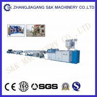 Wholesale Dual PPR Pipe Making Machine  42M Length , Pipe Extruding Machine CE / SGS / ISO from china suppliers
