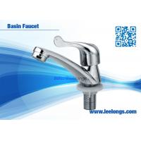 Wholesale Zinc Spanner Easy Handle Basin Faucet For Bathroom , Kitchen from china suppliers