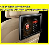 "Wholesale 10.1"" Headrest DVD Player with with DVD+GAMES+IR+FM+SD+USB+MP4+RMVB from china suppliers"